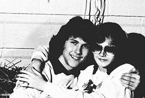 Серийный убийца Пол Бернардо со своей первой любовью Надин Браммер