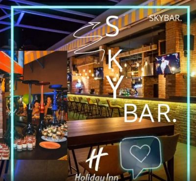 SKYBAR, бар в Актау, 4-й микрорайон, гостиница Holiday Inn Актау